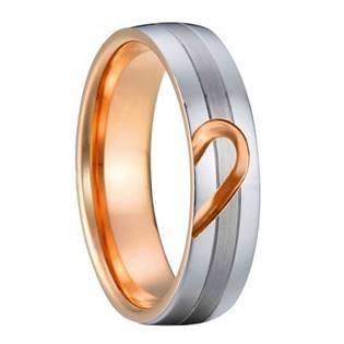 AN1013 Pánský snubní ocelový prsten