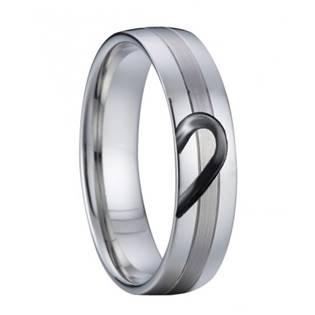 AN1029 Pánský snubní ocelový prsten