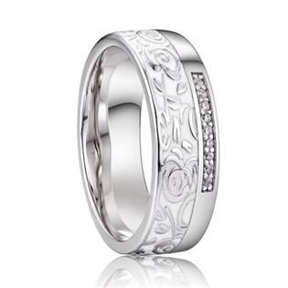 AN1038 Dámský snubní prsten, stříbro AG 925/1000