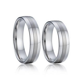 AN1041 Stříbrné snubní prsteny AG 925/1000  - pár