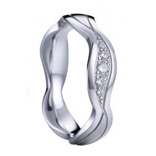 AN1046 Dámský stříbrný snubní prsten