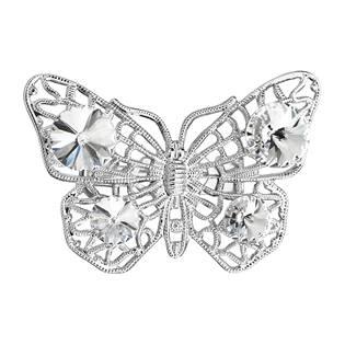 Brož motýl s kamínky Crystals From Swarovski®