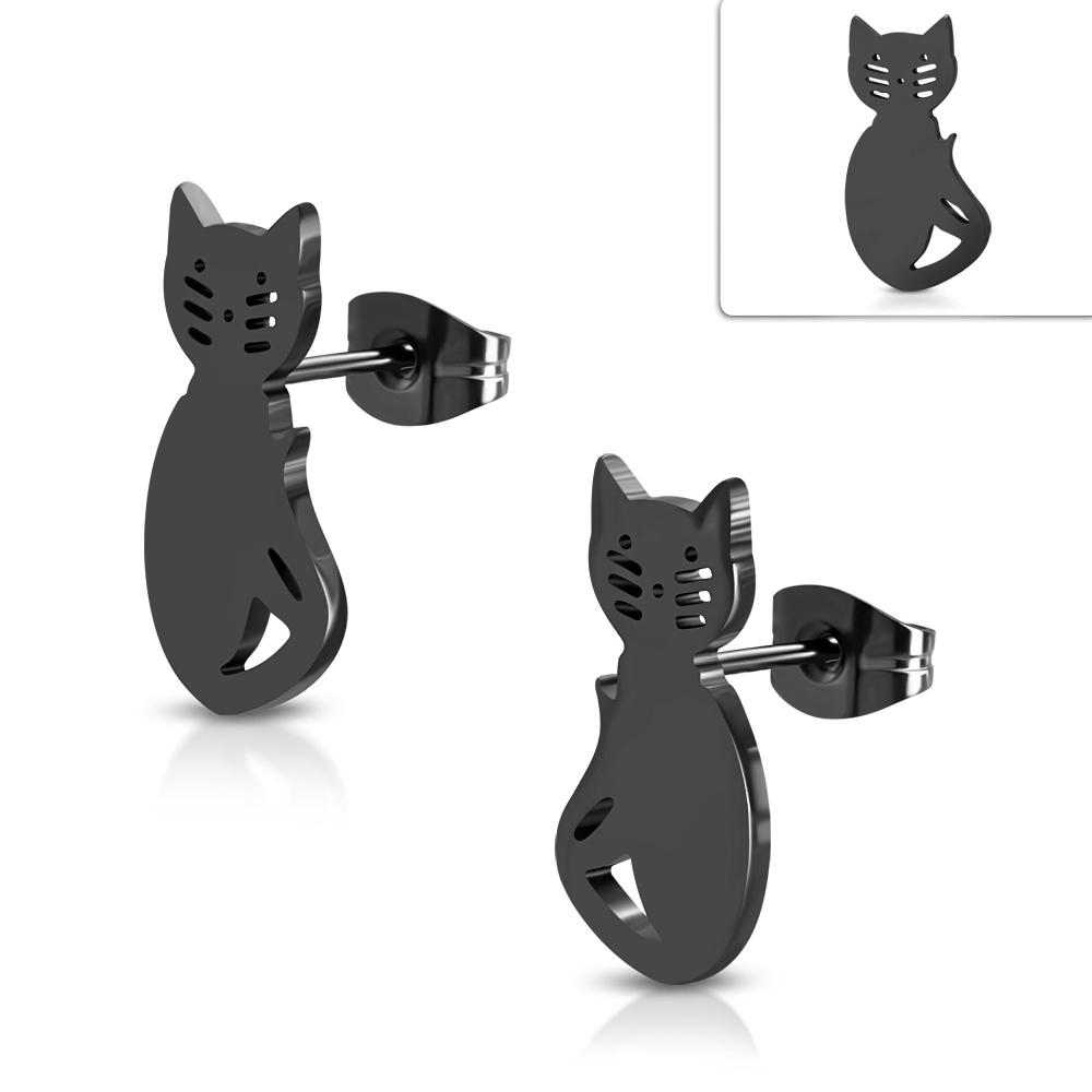 černá kočička hudba