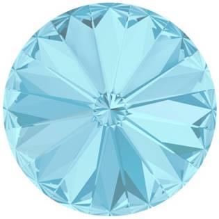 Crystals from Swarovski® RIVOLI 12 mm -  AQUAMARINE