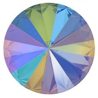 Crystals from Swarovski® RIVOLI 12 mm, PARADISE SHINE
