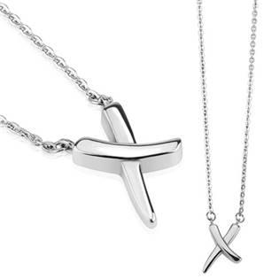 Dámský ocelový náhrdelník