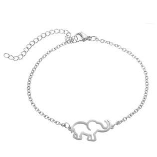 Dámský ocelový náramek - slon