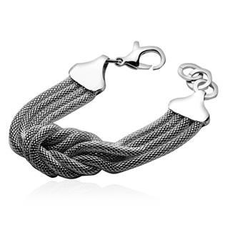 Dámský ocelový náramek - uzel