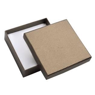 Dárková krabička - perleťově hnědá