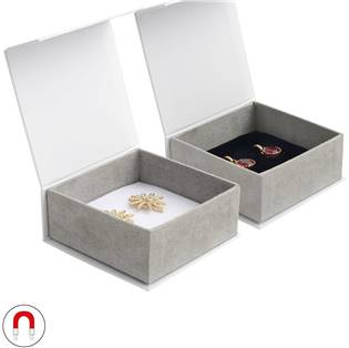 Dárková krabička na náušnice, magnetické zavírání