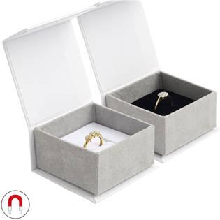 Dárková krabička na prsten, magnetické zavírání
