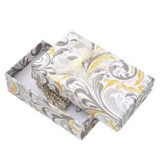 Dárková krabička na soupravu s mašlí