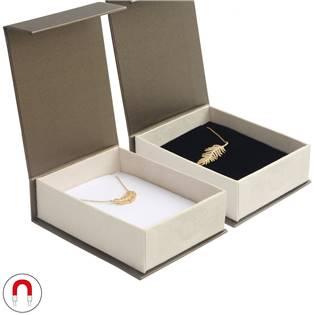 Dárková krabička na soupravu šperků, magnetické zavírání