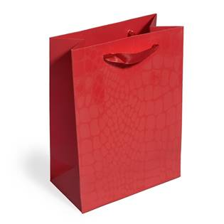 Dárková taška červená