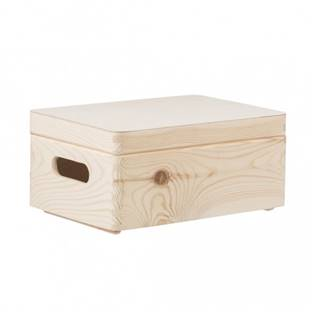 Dřevěný box s víkem