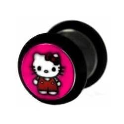 Falešný piercing - kočička Hello Kitty