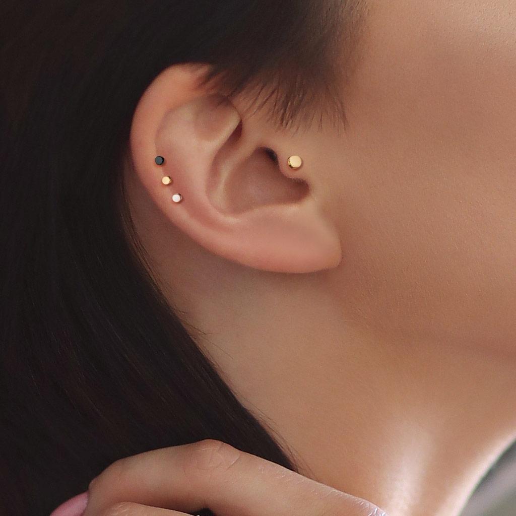 Microdermal piercing placička - ozdobná část | Šperky4U.eu