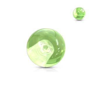 Náhradní kulička 1,2 mm, průměr 3 mm, barva zelená