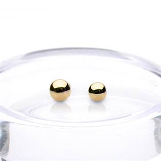 Náhradní kulička zlatá pro závit 1,2 mm, 585/1000