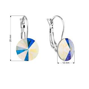 Náušnice bižuterie s Crystals from Swarovski®, AB