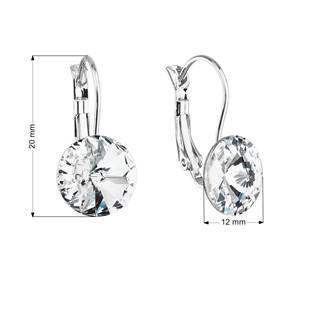 Náušnice bižuterie s Crystals from Swarovski® CRYSTAL