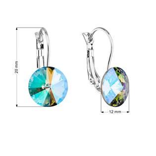 Náušnice bižuterie s Crystals from Swarovski® PARADISE SHINE