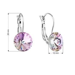 Náušnice bižuterie s Crystals from Swarovski® VITRAIL LIGHT