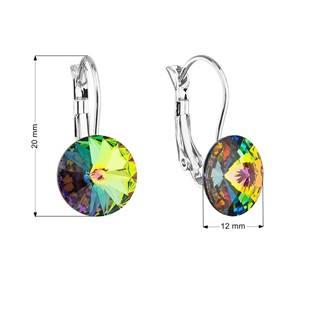 Náušnice bižuterie s Crystals from Swarovski® VITRAIL MEDIUM