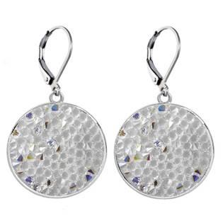 Náušnice s krystaly Crystals from Swarovski® CRYSTAL AB