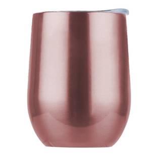 Nerezový termo pohárek - měděně růžový