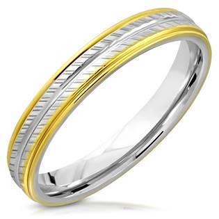 NSS3006 Pánský snubní prsten ocel