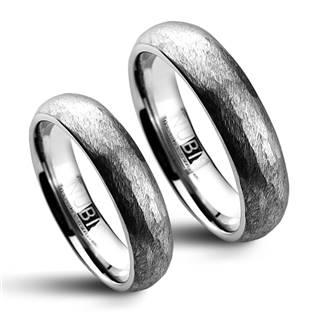 NWF1010 Wolframové snubní prsteny - pár