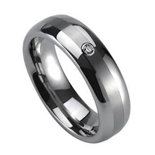 NWF1026 Dámský snubní prsten se zirkonem