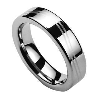 NWF1042 Dámský snubní prsten wolfram