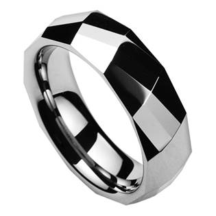 NWF1046 Pánský snubní prsten wolfram