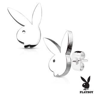 Ocelové náušnice Playboy