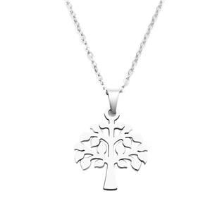 Ocelový náhrdelník strom života
