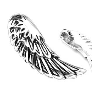 Ocelový přívěšek - křídlo