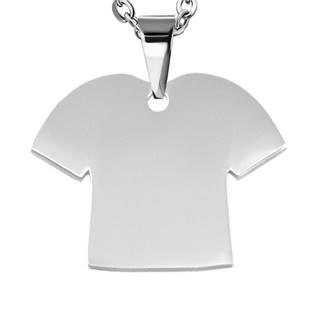 Ocelový přívěšek - tričko