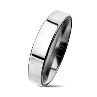 Ocelový prsten, š. 4 mm, vel. 65