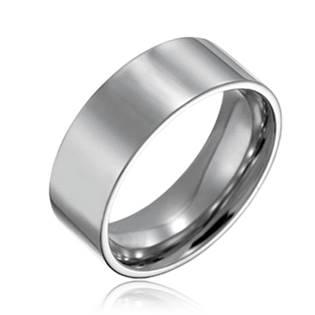 Ocelový prsten, š. 8 mm, vel. 52