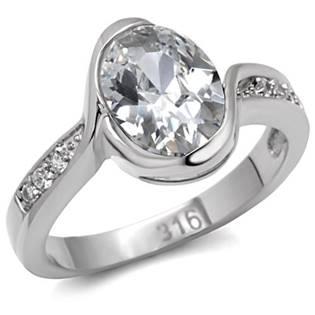 Ocelový prsten se zirkony OPR1555