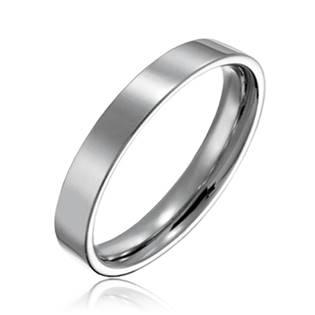 Ocelový prsten, šíře 3 mm, vel. 55