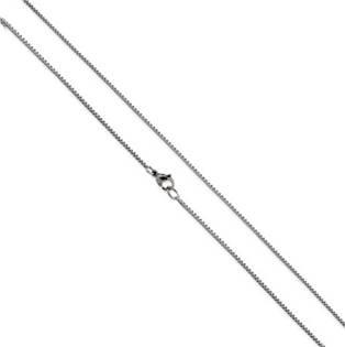 Ocelový řetízek čtvercový, tl. 1,0 mm