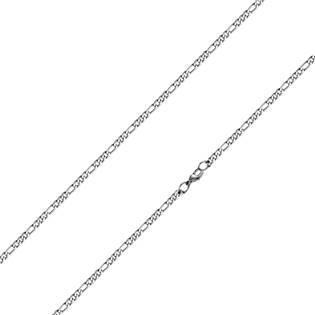 Ocelový řetízek figaro tl. 3 mm