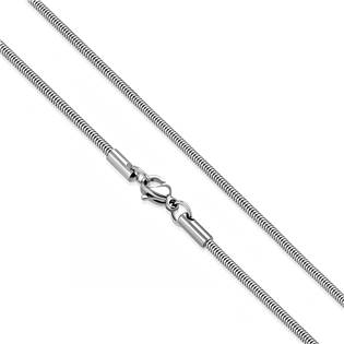 Ocelový řetízek had, tl. 2,4 mm