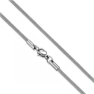 Ocelový řetízek had, tl. 3 mm