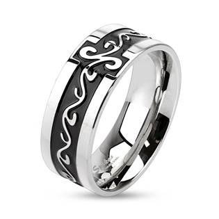 OPR0005 Dámský ocelový snubní prsten