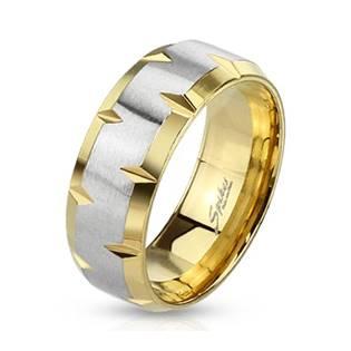 OPR0010 Pánský ocelový snubní prsten