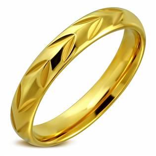 OPR0024 Dámský snubní prsten, šíře 4 mm